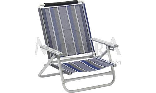 Καρέκλα αλουμινίου παραλίας CEZANNE