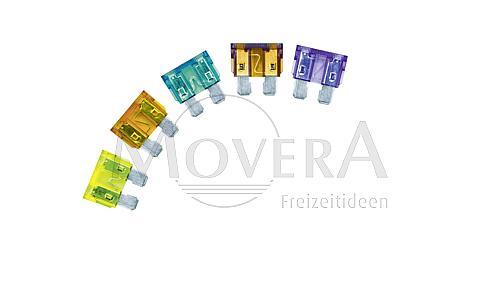 Ασφάλειες σε κουτί 10 τεμ (2, 3, 5, 7,5 , 10, 15, 20, 25, 30)