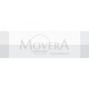 Τραπεζιού runner λευκό/γκρί 150 x 45 cm