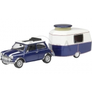 Mini Cooper με Τροχόσπιτο Eriba Puck