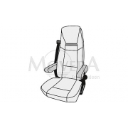 """Κάλυμμα καθίσματος για AGUTI κάθισμα """"Roadliner"""""""