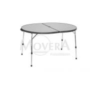 Τραπέζι αλουμινίου οβάλ