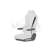 Κάλυμμα καθίσματος για SKA κάθισμα, οδηγού  κάθισμα