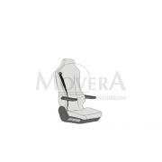 Κάλυμμα καθίσματος για ISRI κάθισμα 6860/775, συνοδηγού κάθισμα
