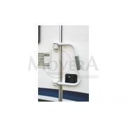 Κλειδαριά & χερούλι βοηθείας πόρτας εισόδου Security 46 (H = 46 cm) άσπρο
