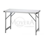 Τραπέζι αλουμινίου με μονικομματη επιφάνεια