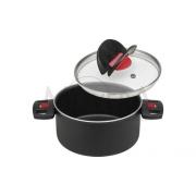 Κατσαρόλα με καπάκι Click & Cook