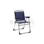 Πτυσσόμενη καρέκλα LUX μπλέ