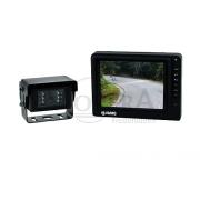 "Caratec Safety CSV5001 Video όπισθεν-Set με 13 cm (5"") Οθόνη και έγχρωμη κάμερα"