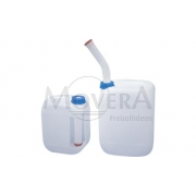 Δοχείο με Εξωτερική τάπα αδειάσματος (200 mm) DIN 51