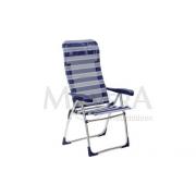 Πτυσσόμενη καρέκλα ψηλή πλάτη  με ανατομική φόρμα