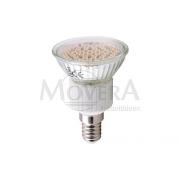LED Φως E14 60SMD θερμό λευκό