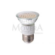 LED Φως E27 60SMD θερμό λευκό